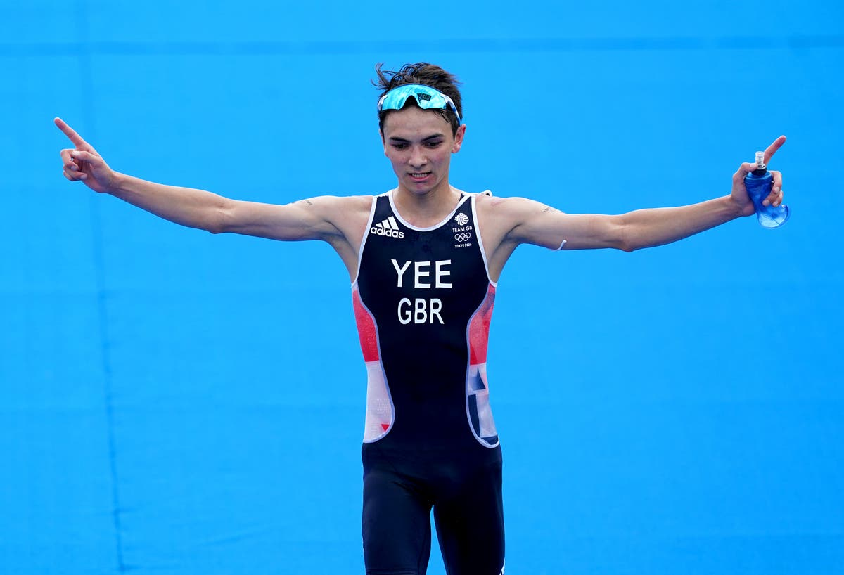 Alex Yee takes triathlon silver on his Olympic debut in Tokyo