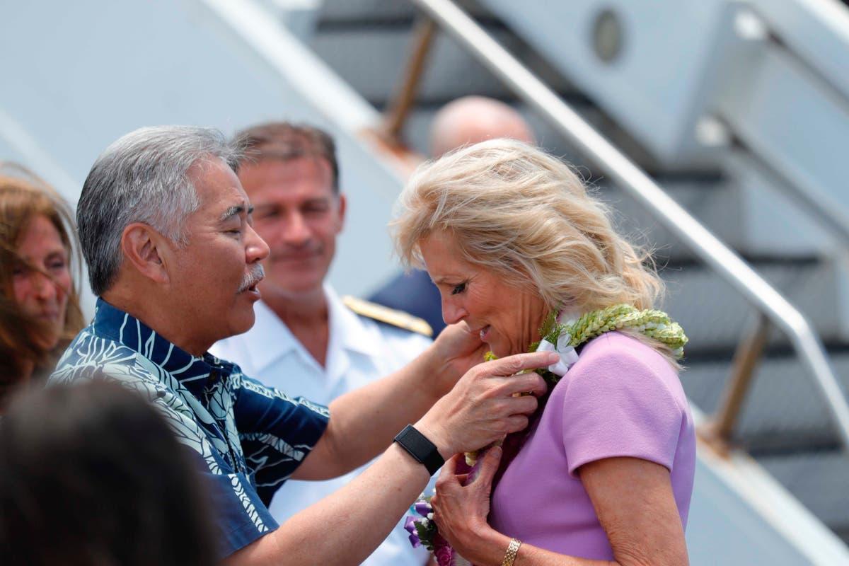 Jill Biden envoyée à l'hôpital après avoir reçu un objet logé dans son pied à Hawaï