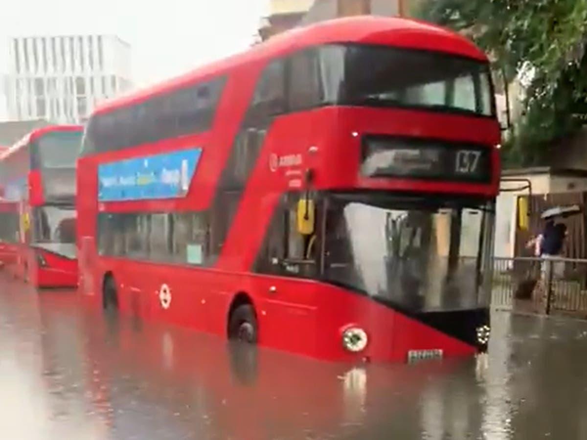 Warnings fresh storms set to hit UK - follow London floods live