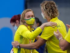 Tokyo 2020: Australian swim coach's reaction goes viral after Titmus beats Olympic giant to win gold