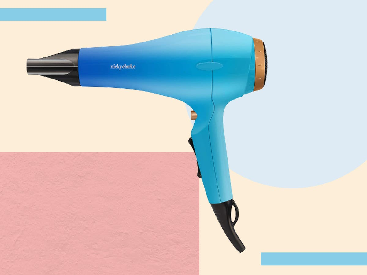 Nicky Clarke's supershine izora dryer takes the confusion out of at-home blow dries