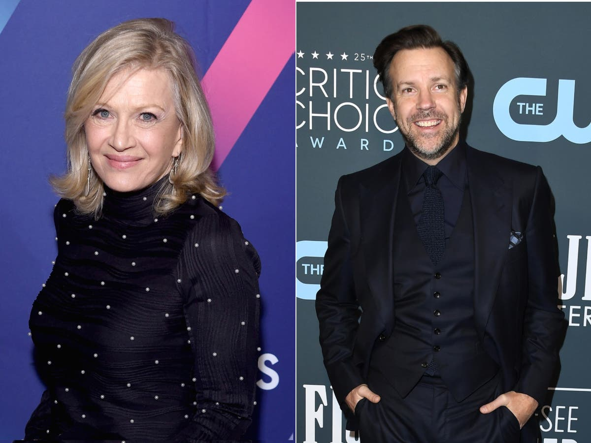 Here's Diane Sawyer's brilliant response to Ted Lasso's date proposition