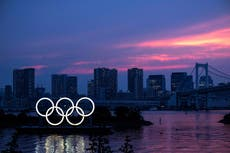 Sign up to The Independent's Tokyo Olympics 2020 newsletter