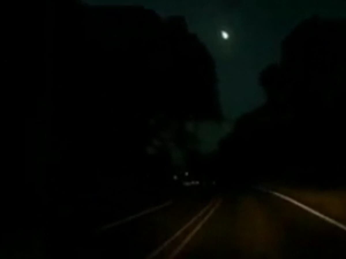 Meteor caught on camera in Texas