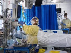 CPAP for covid patients reduces need for invasive ventilation, study finds
