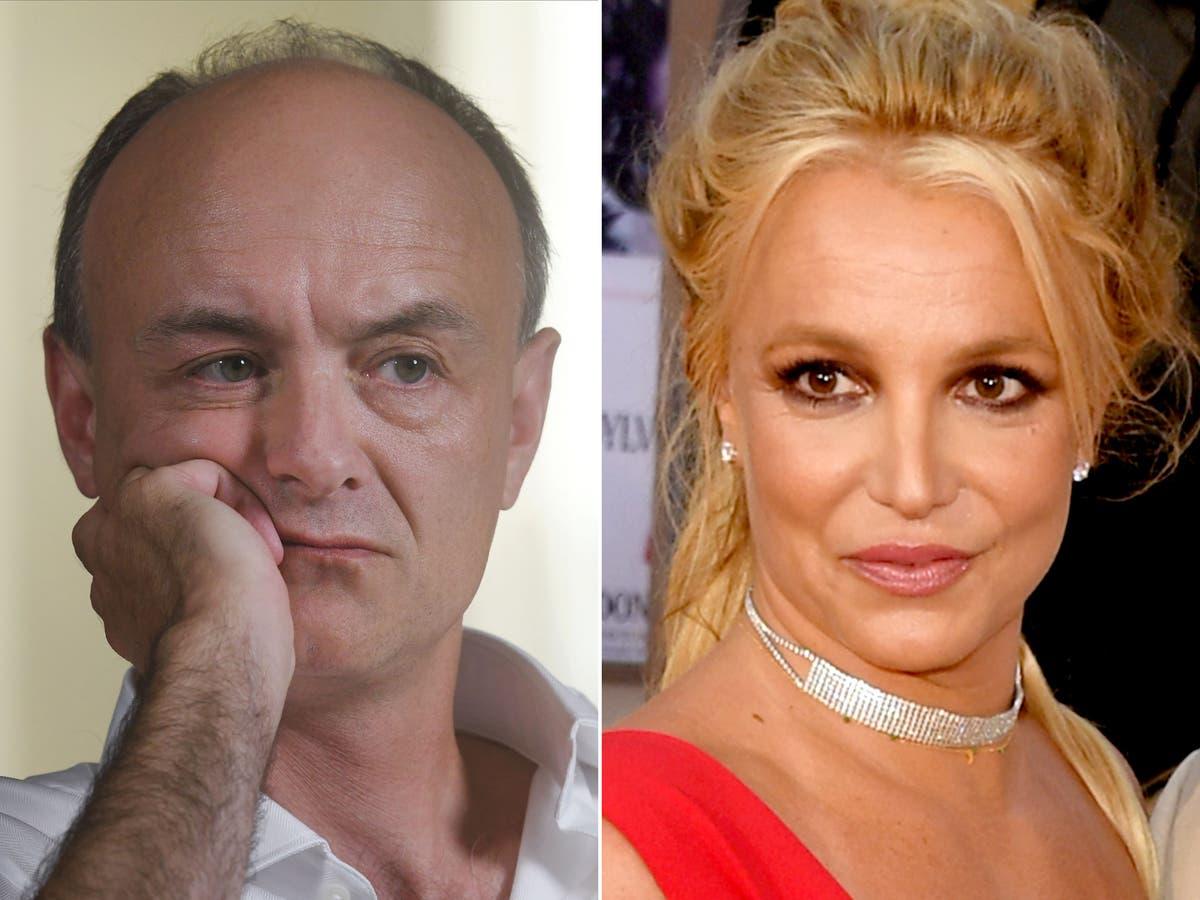 Dominic Cummings parece se juntar ao movimento Free Britney