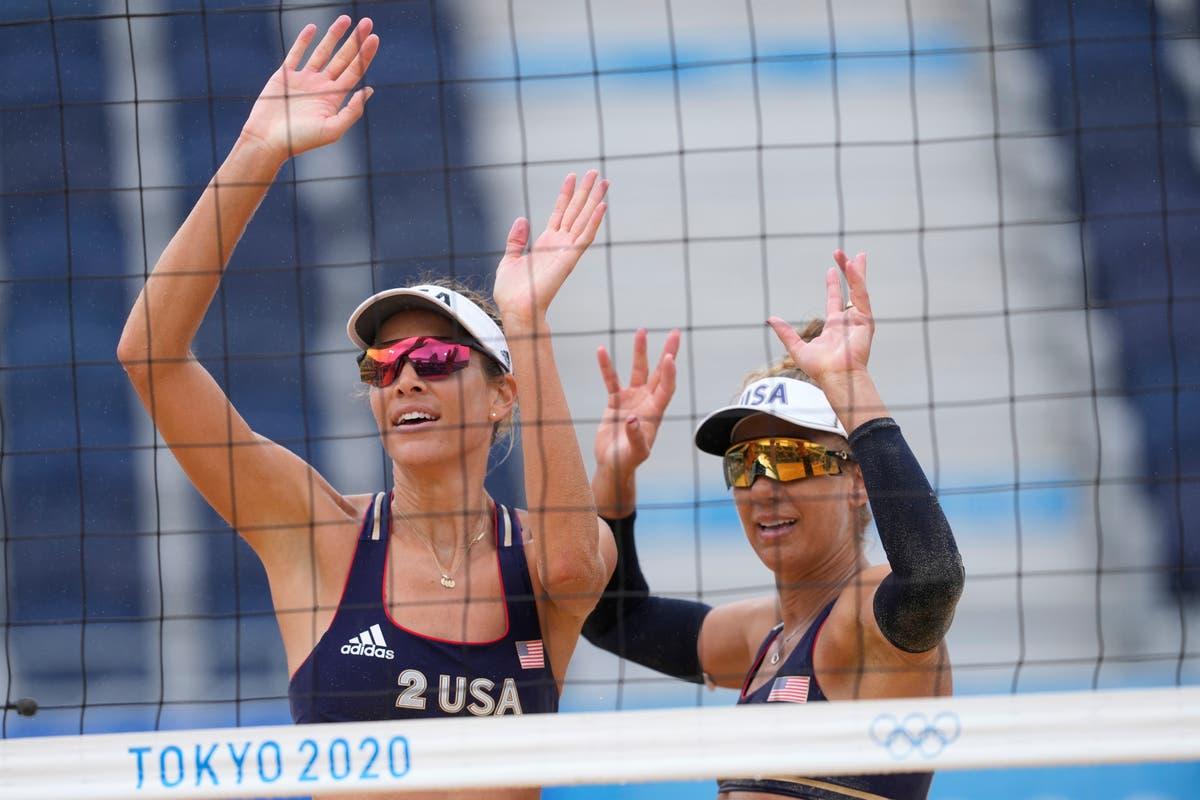 Olimpíadas mais recentes: Mulheres americanas conquistam mais uma vitória no vôlei de praia