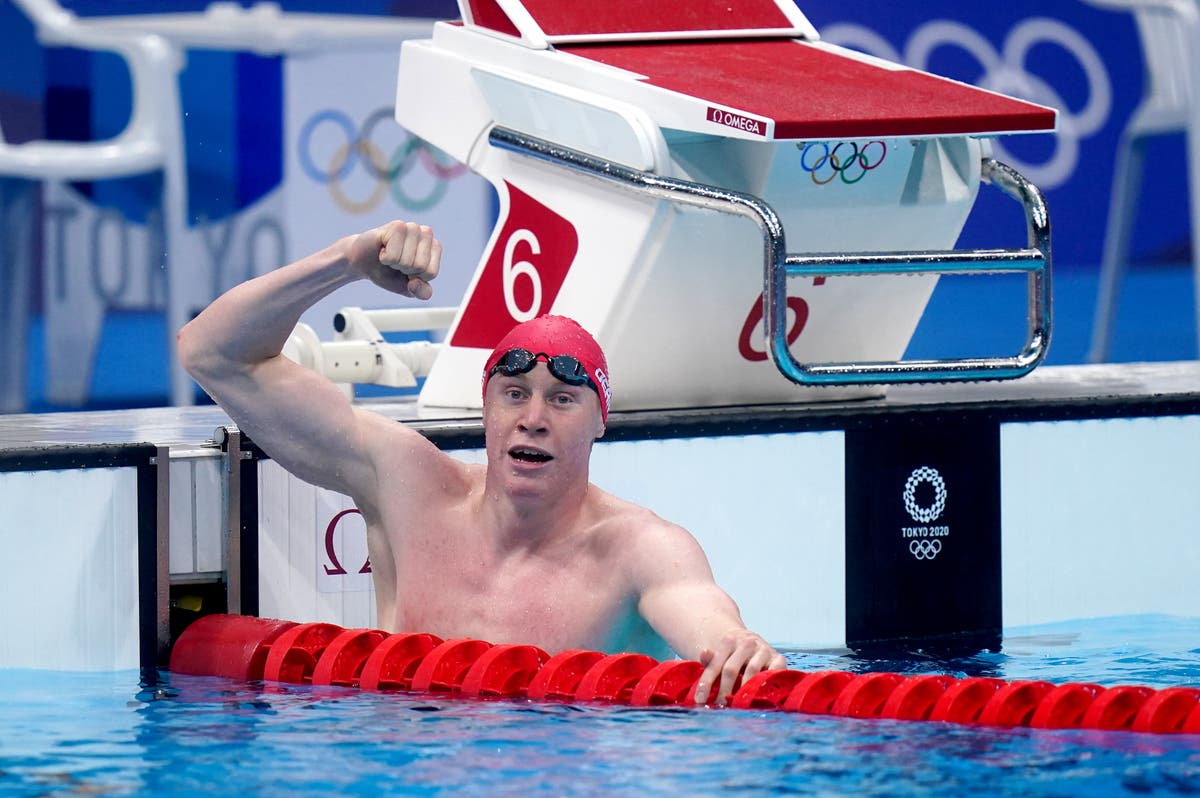 Tom Dean wins gold and Duncan Scott completes British one-two in 200m freestyle