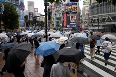 Tropical storm to bring rain, wind, waves to northeast Japan