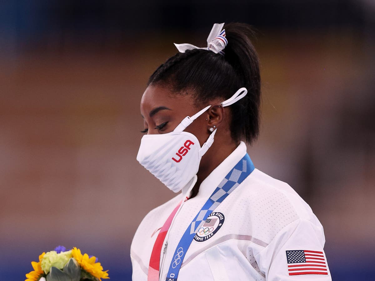 As uncertainty surrounds Simone Biles, Russia takes the US's gymnastics crown