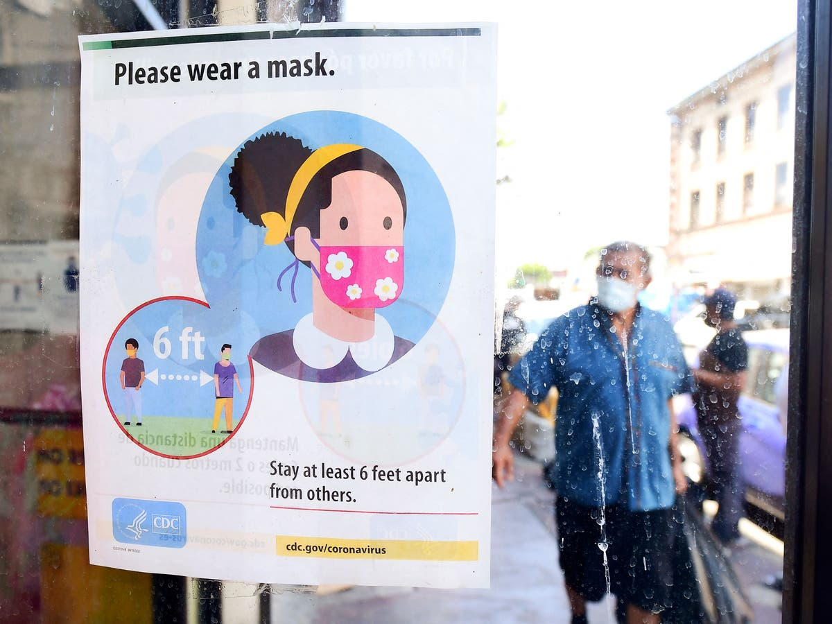 CDC to U-turn on guidance on masks for vaccinated Americans, relatórios dizem