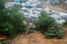 5 Rohingya die in landslide in Bangladesh refugee camp