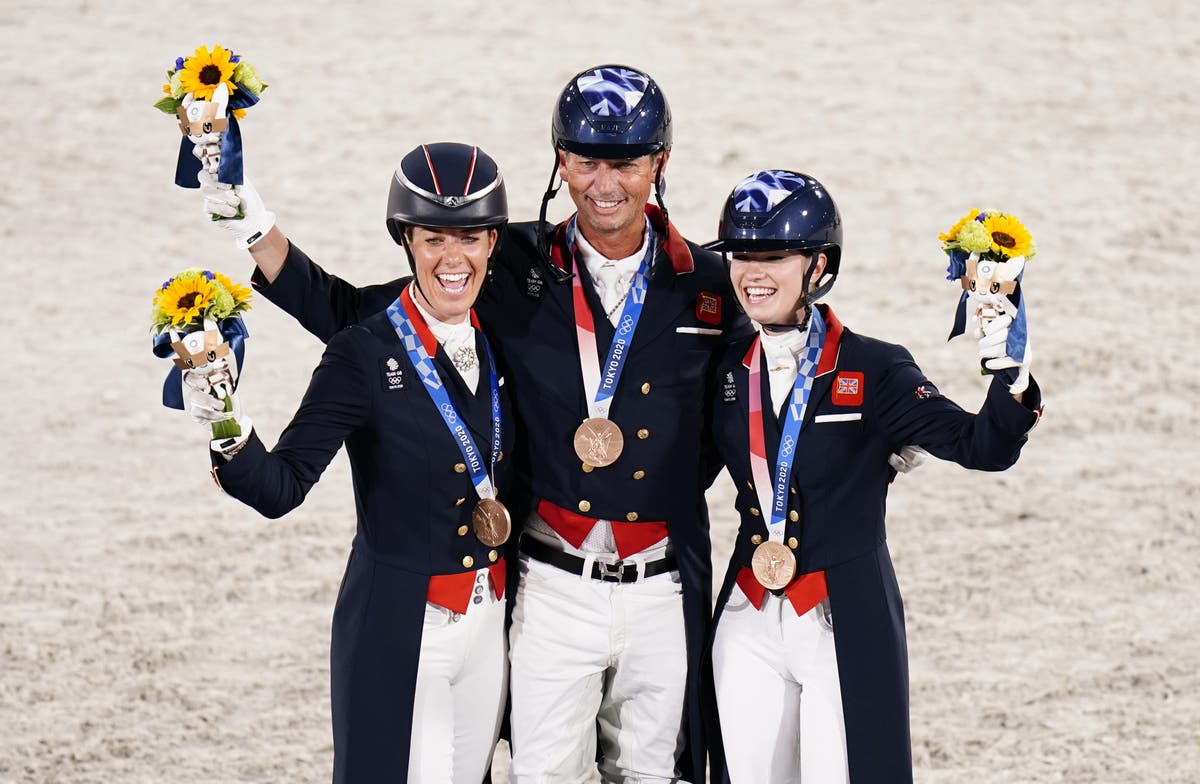 Charlotte Dujardin delighted as she equals Olympic medal count by British woman