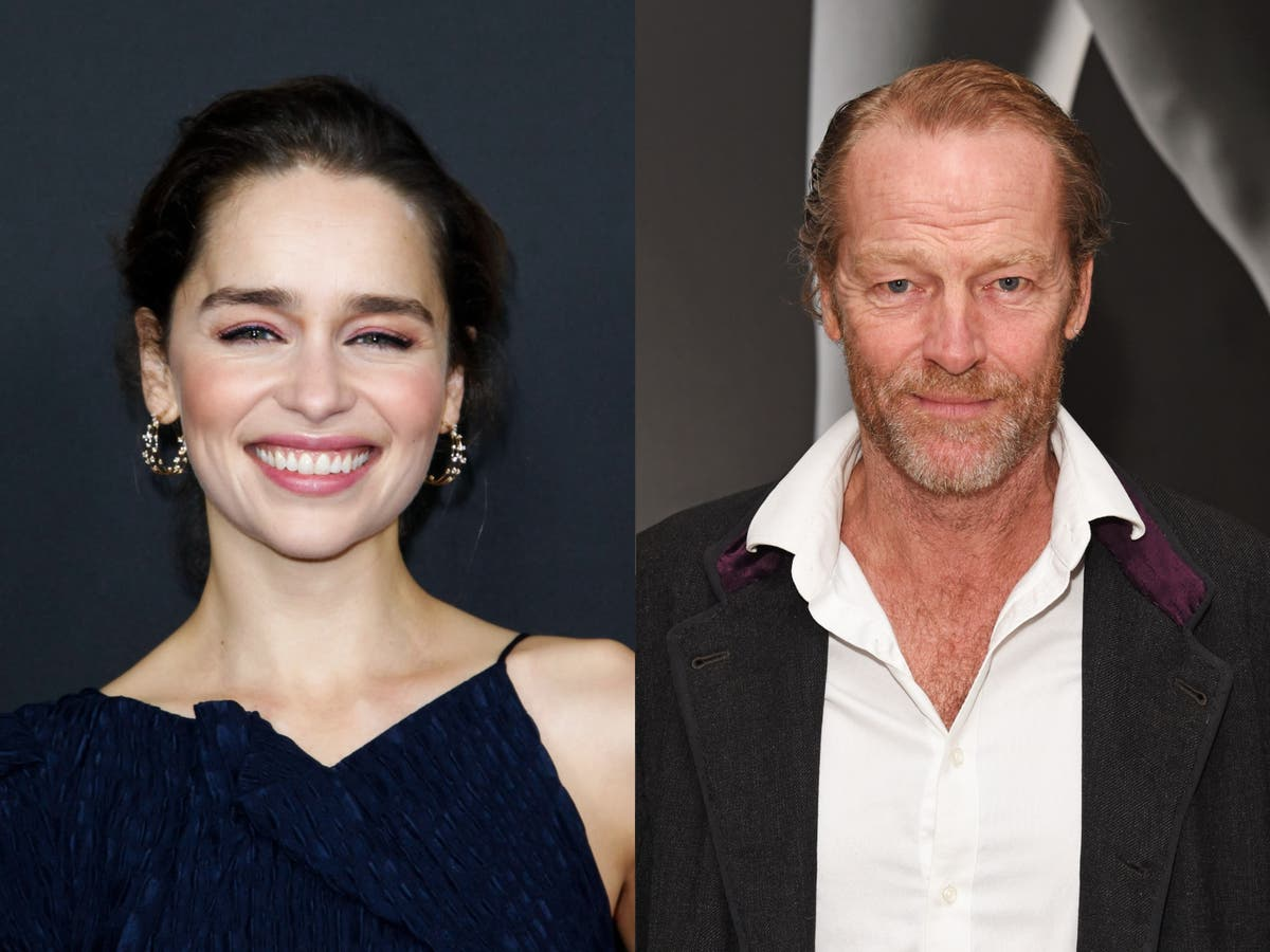 Game of Thrones stars Emilia Clarke and Iain Glen reunite on social media