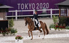 How do horses get to the Olympics?