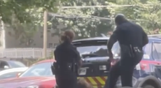 'I'm speechless': Video of Atlanta police kicking handcuffed woman in face leaves family 'horrified'