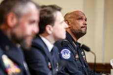 Ten police officers still off duty from injuries suffered during Capitol riot