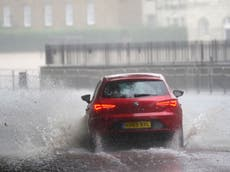 Weather warnings issued as 'up to 80mm of rain' to fall this week