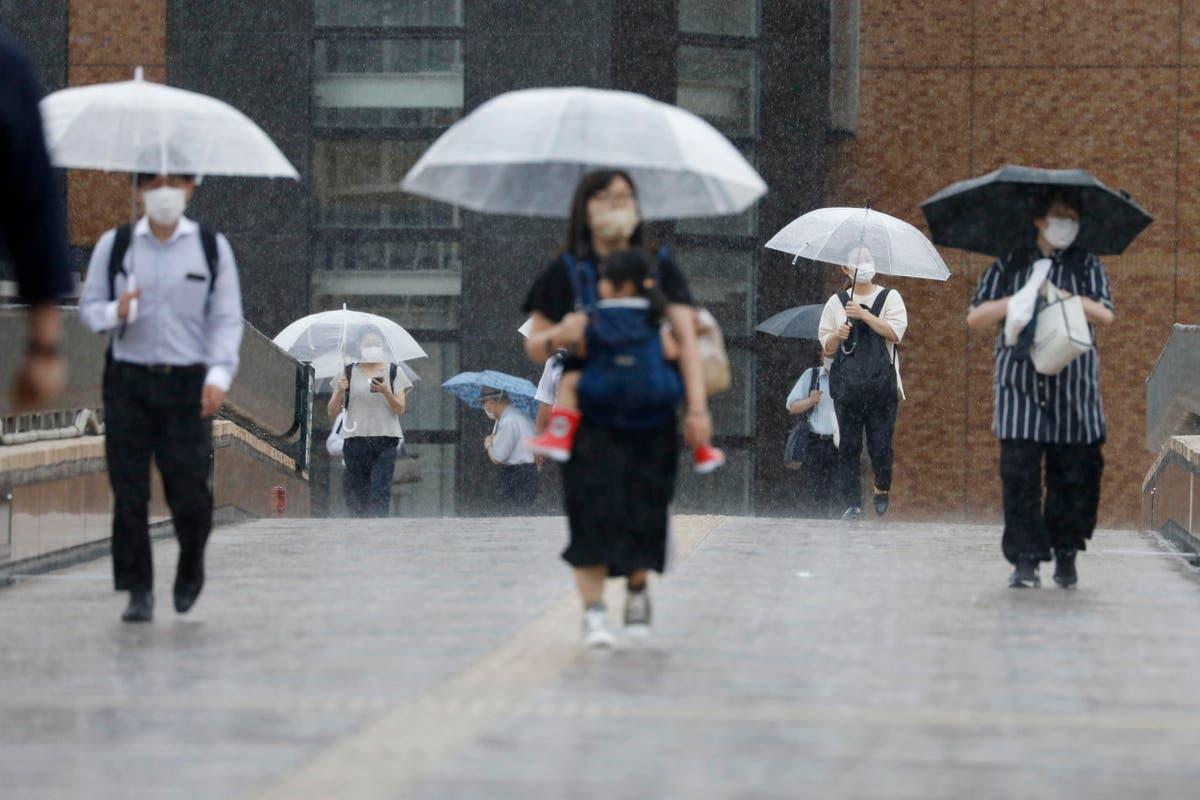 熱帯低気圧が日本北部に雨を降らせる, オリンピックを惜しまない