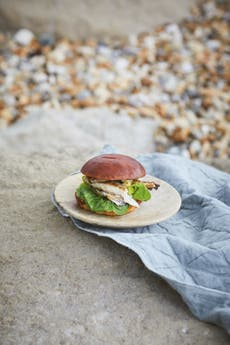 Fried mackerel burgers: Perfect for feeding a crowd while camping
