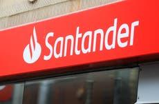 Online banking down: Santander, Natwest, Halifax and TSB apps and websites broken