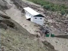 Dozens missing and seven dead after cloudburst triggers flash flood in India's Jammu and Kashmir