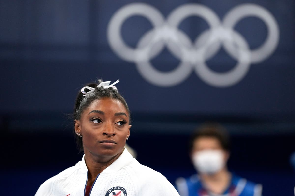 Senior Texas official apologises after he calls Simone Biles a 'selfish childish national embarrassment'