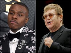 Elton John 'shocked' at DaBaby's homophobic comments: 'It's the opposite of what our world needs'