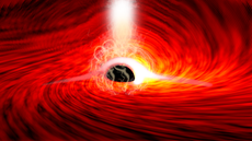 Scientists see light from the other side of a black hole for the first ever time