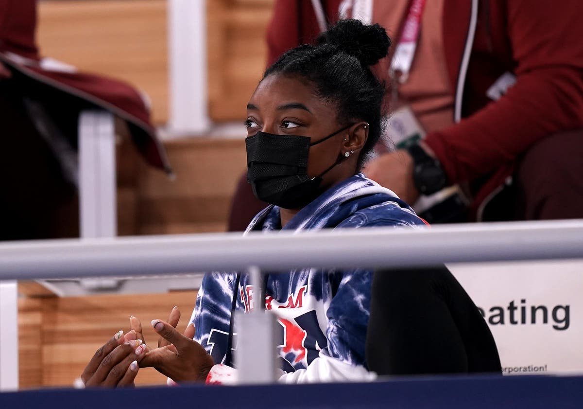 Simone Biles thankful for 'love and support' sent her way