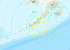 tremblement de terre en Alaska: Tsunami warning as 8.2-magnitude tremor strikes off coast