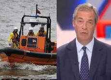 The RNLI is saving lives at sea. Terrible, そうですね, Nigel Farage?