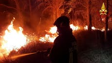 Devastating, unprecedented wildfires in southern Europe could reignite, experts warn