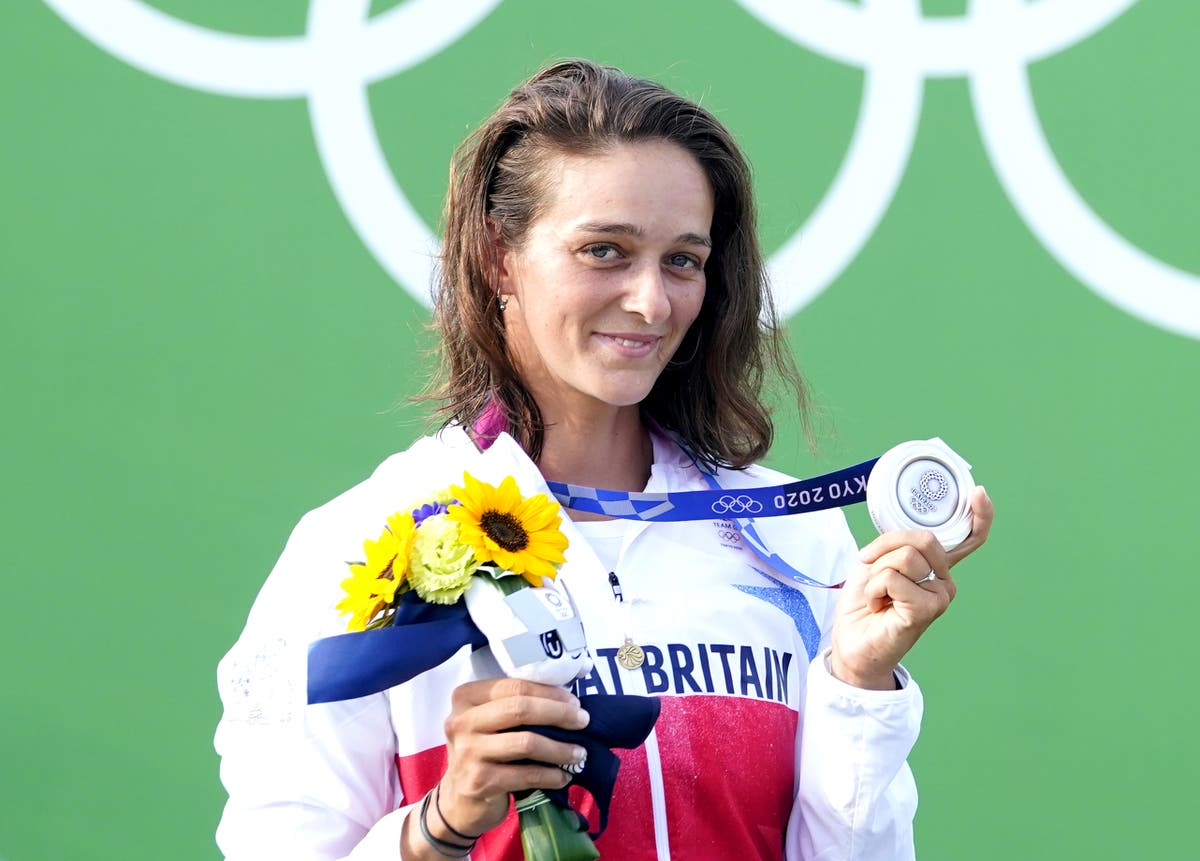 Calm and content Mallory Franklin savours Olympic silver medal in canoe slalom