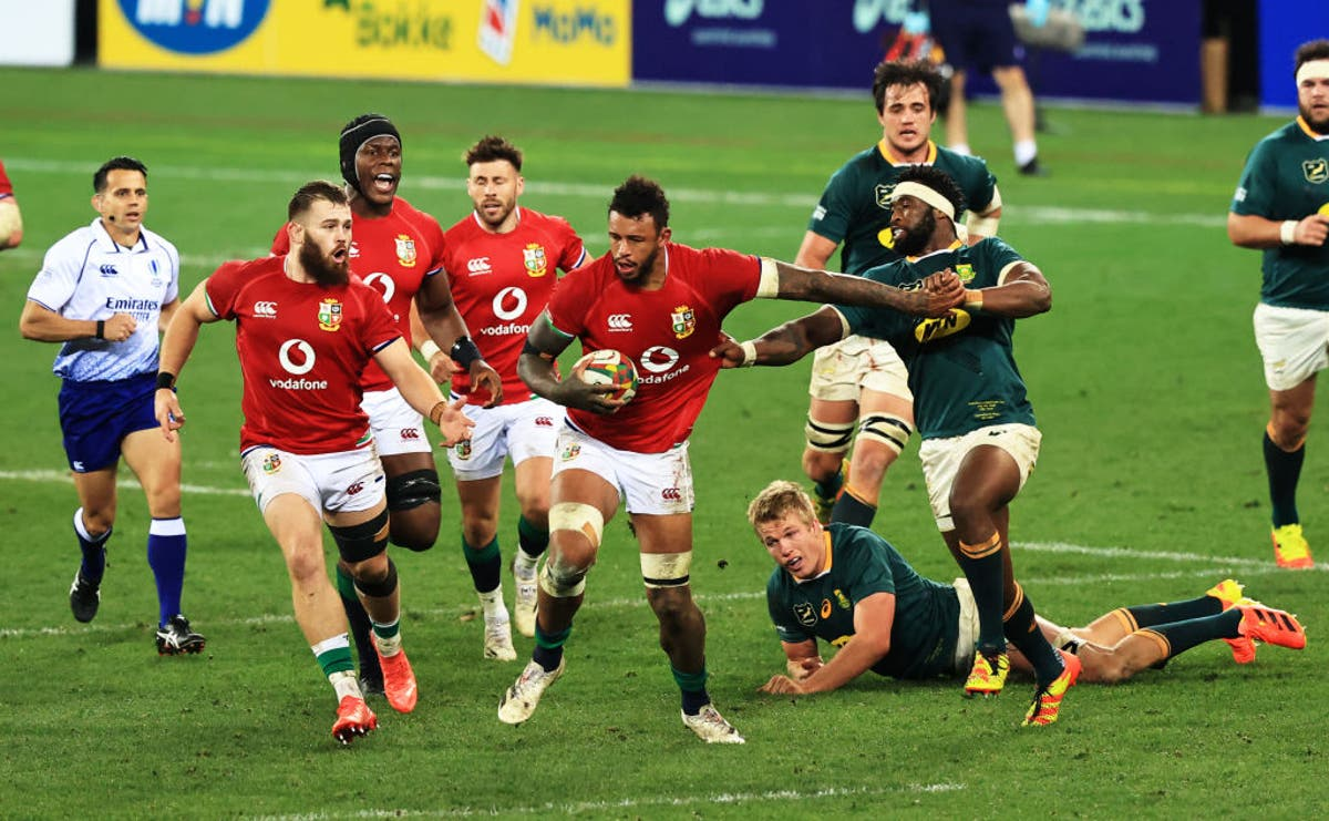 Is South Africa vs British and Irish Lions on TV tonight? キックオフタイム, channel and how to watch Test fixture