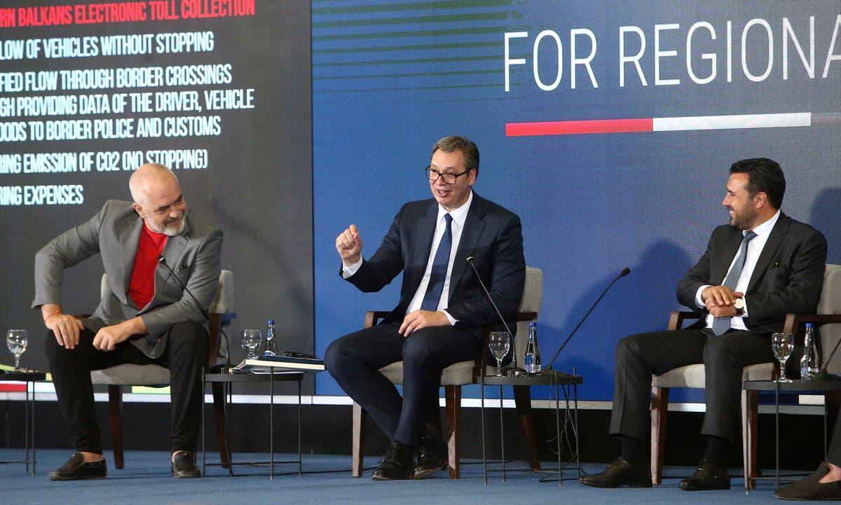 Balkan leaders agree to open borders between nations in 2023