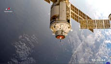 Nasa forced to take emergency action at International Space Station after module goes out of control