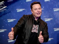 Elon Musk says Apple's App Store fees are a 'global tax on the internet' and sides with Fortnite developer Epic