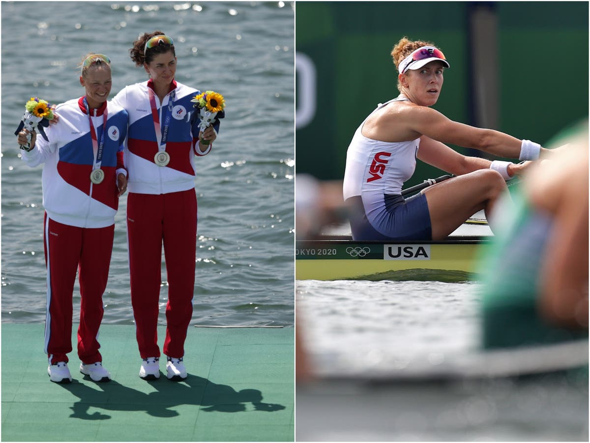 'They shouldn't be here': USA rower hits out Russians after losing medal to them