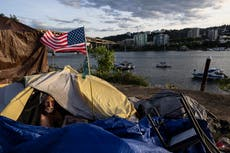 Portland bans homeless camps in forest areas amid wildfires