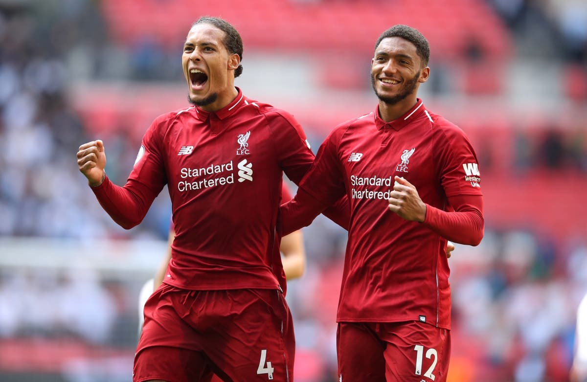 Delighted Virgil van Dijk and Joe Gomez make long-awaited Liverpool returns