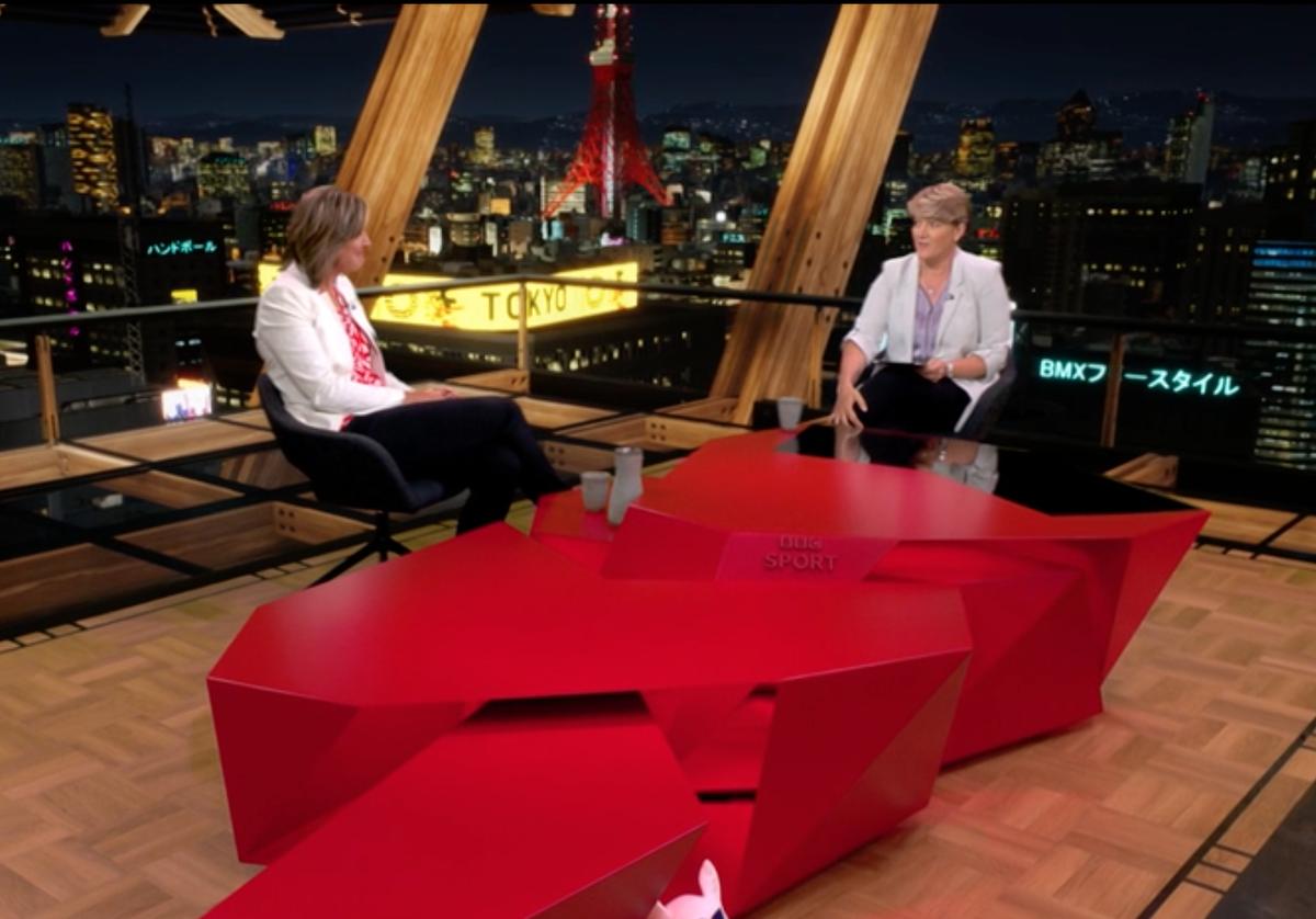 Is the BBC Olympics studio in Tokyo?