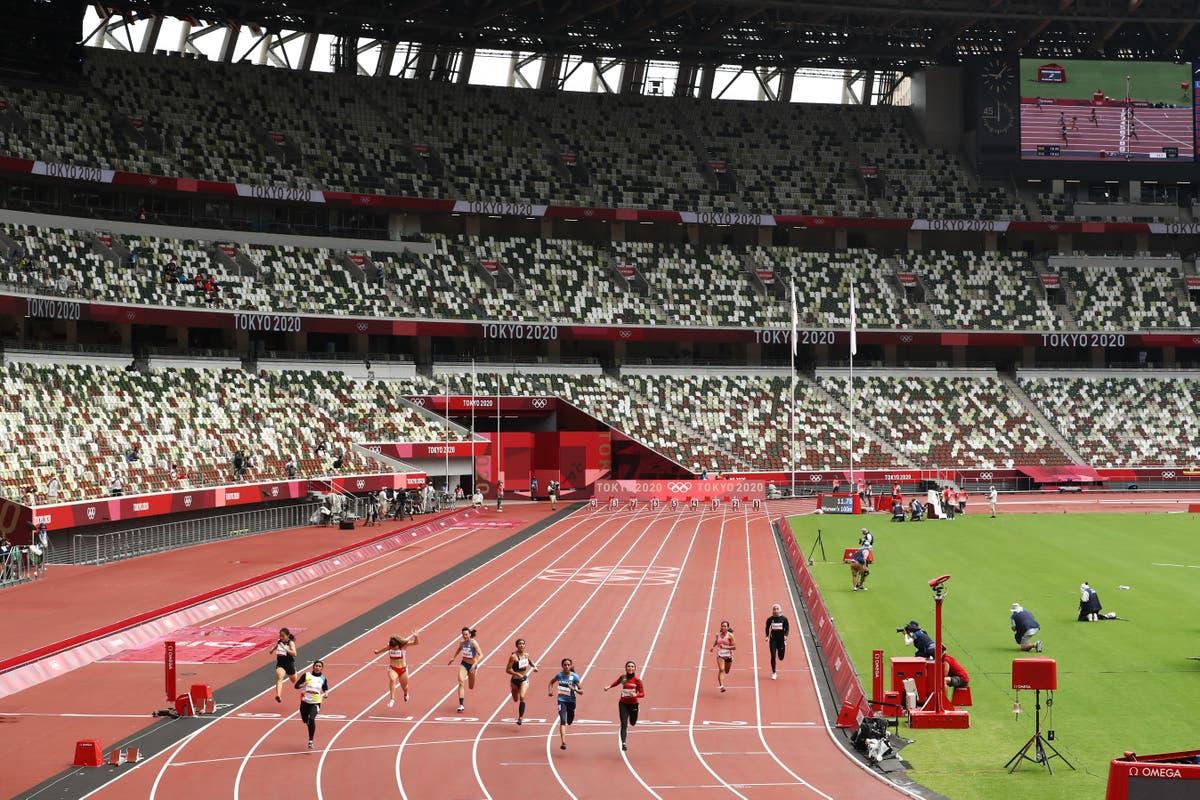 Team GB's Dina Asher-Smith prepares for 100m - suivre en direct