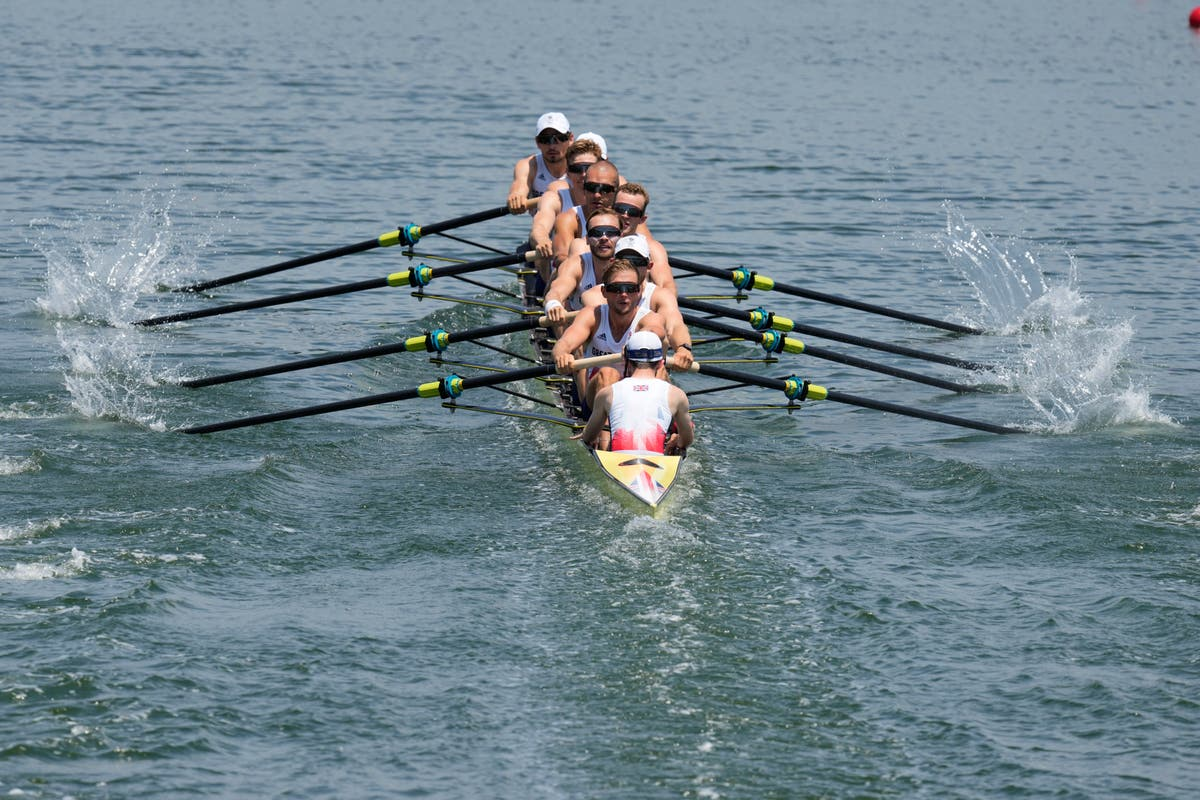 Boost for Great Britain in final rowing event as men's eight team take bronze