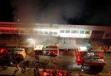 Fire erupts at warehouse of Brazil's national film institute