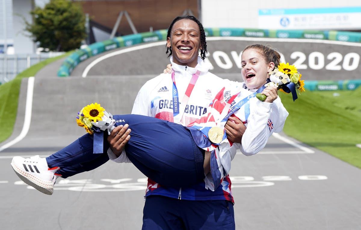 L'histoire du BMX pour la Grande-Bretagne alors que Beth Shriever remporte l'or et Kye Whyte revendique l'argent