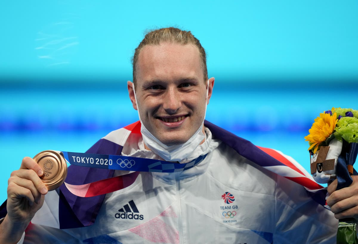 Luke Greenbank bags Great Britain bronze in men's 200m backstroke
