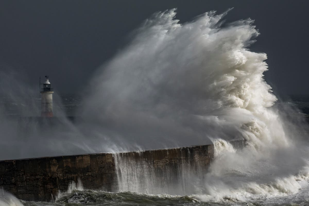 Storm Evert to bring 75mph winds in some parts of UK - follow live