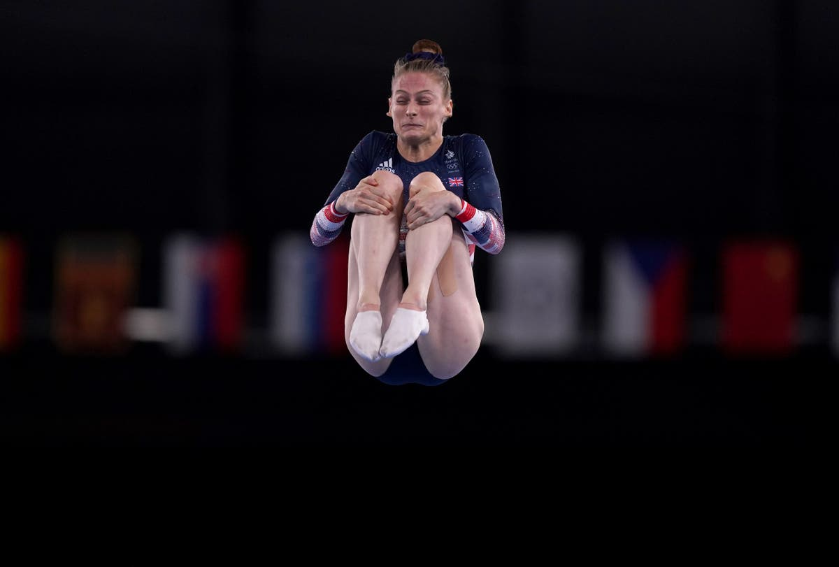 Bryony Page bounces to bronze for Team GB in women's trampoline event