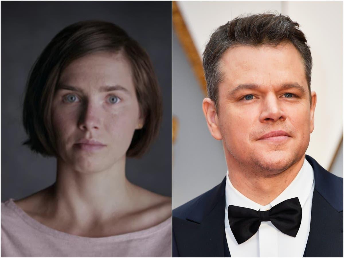 Amanda Knox condemns new Matt Damon film for 'profiting' from her wrongful murder conviction